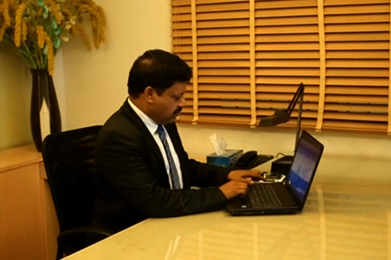 Mr. Vinayan T.P. makes sure that he puts his heart into each design of Kent.