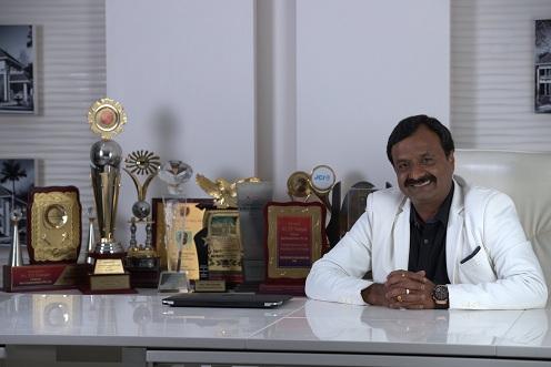 Mr.Vinayan .T.P - Chairman , Kent construction
