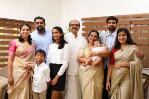 Kurian John Melam family