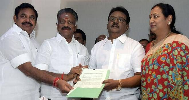 DMDK joins hands with AIADMK | Unique Times Magazine
