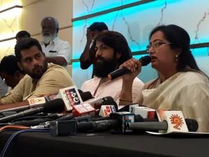 Sumalatha Yash Kannada Nikhil Karnataka KannadaFilmIndustry JD(S) Congress BJP UniqueTimes