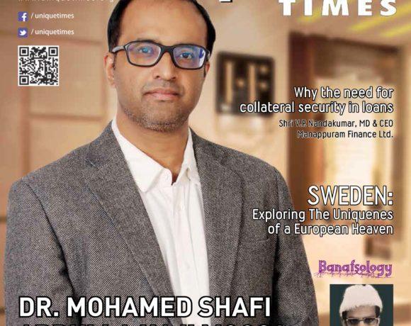 Dr. Mohamed Shafi Abdulla Haji Unique Times